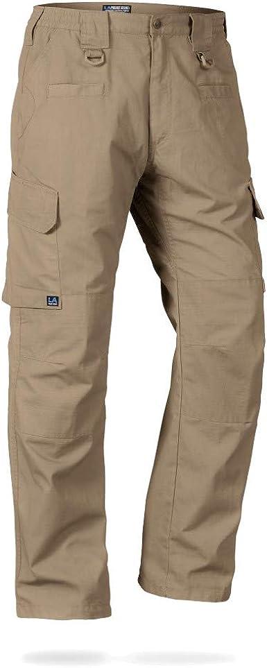 Amazon Com La Police Gear Pantalones Tacticos Impermeables Para Hombre Con Pretina Elastica Clothing