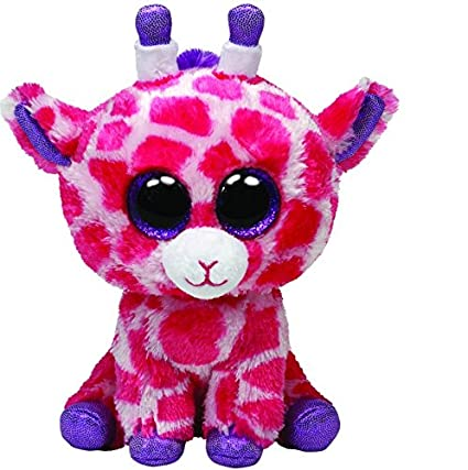575c1c6b16c Amazon.com  Ty Beanie Boos Twigs Pink Giraffe Regular Plush  Toys   Games