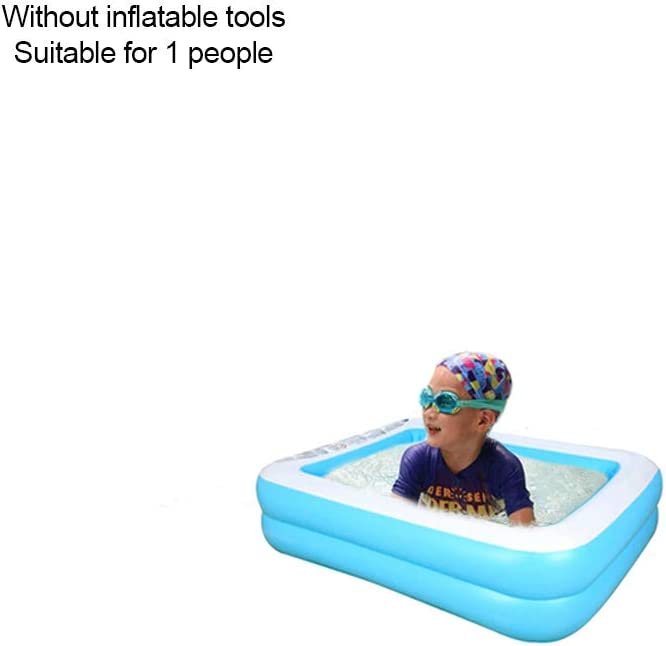 43.3 X 34.6X13 Kids /& Toddler Bellanny Two-Ring Inflatable Kiddie Pool for Baby Inflatable Plastic Pool for Summer Fun Summer Water Party Swimming Pools for Garden Backyard Lawn Patio