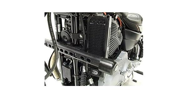 R & G Oil Cooler Radiator Guard Barbacoa Protector ocg0004bk Harley Davidson XR 1200: Amazon.es: Coche y moto