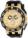 Swiss Legend Men's 10125-YG-010 Challenger Analog Display Swiss Quartz Black Watch