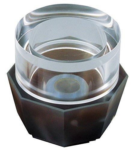 アズワン めのう製マグネット乳鉢セット 15g八角 /1-6020-03 B01ANUSU4O  φ130×55mm