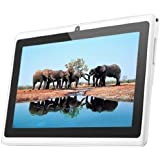AFUNTA 7-Inch Allwinner A13 Q88+ Dual Camera Tablet Pc Android 4.0 1.2GHz CPU Multiple Touch Capactive Screen 512MB RAM 4GB HDD Wifi (White)