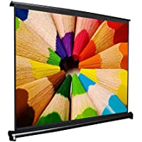 Actek 16:9 Fold-Up Projector Display Screen Portable Table Screen for Home Theater Office (40)
