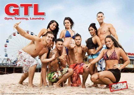 Jersey Shore GTL Gym Tanning Laundry Snookie MTV TV Poster 2