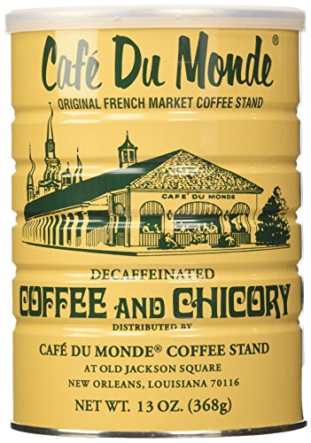 Cafe Du Monde Coffee and Chicory Decaffeinated, 13 Ounce