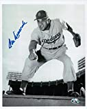 Don Newcombe Signed 8X10 Photo Autograph Dodgers Looking Down Border Auto COA