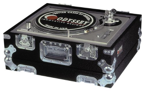 (Odyssey CTTP Carpeted Pro Turntable Case With Recessed Hardware)