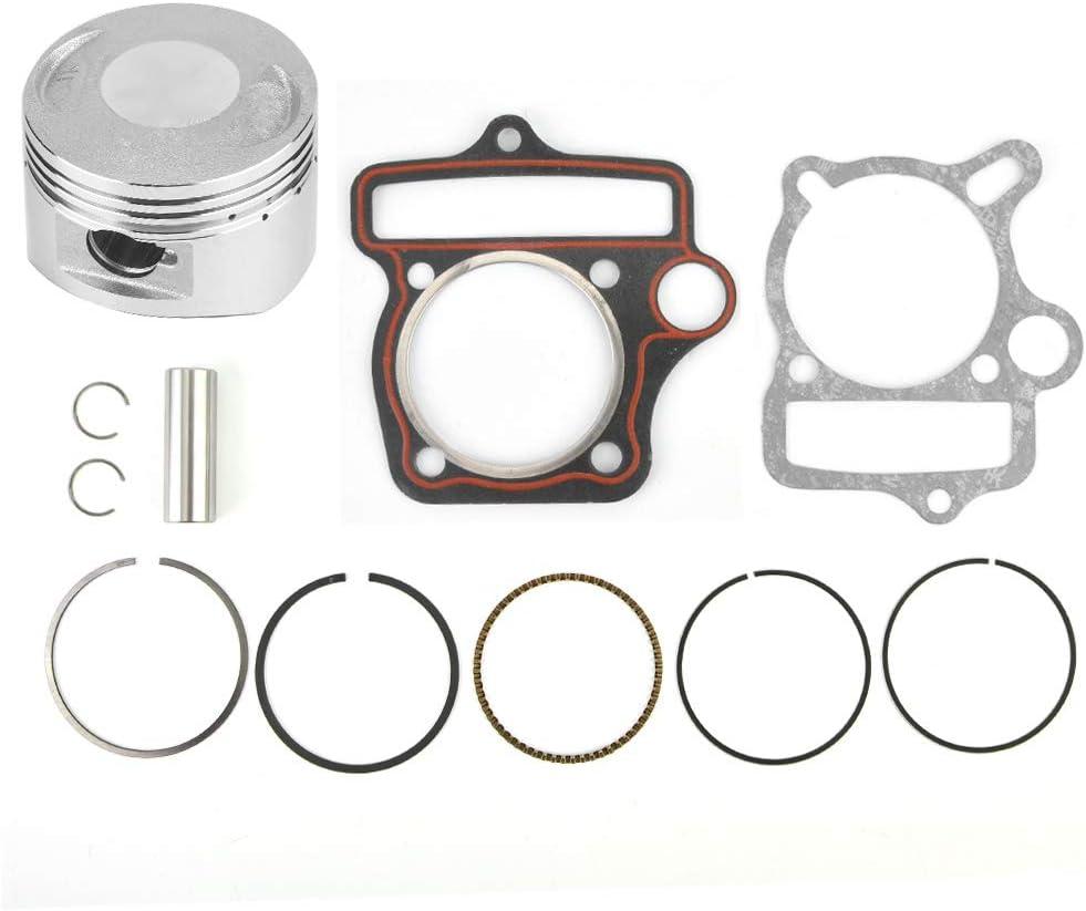 Gorgeri 125cc 54mm Engine Parts Piston Set Rings Gaskets Cylinder Piston Kit for Loncin LiFan ATV Go Kart Bike