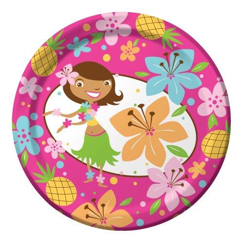(Creative Converting Pink Luau Fun 8 Count Paper Lunch)