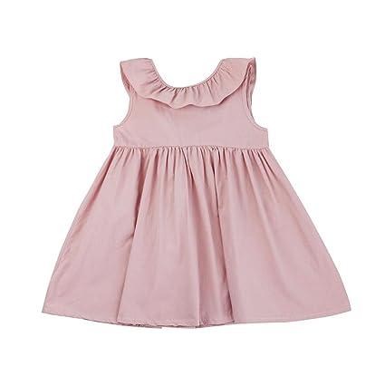 Amlaiworld Falda niña Vestido de princesa de bebé Niñas Vestido de fiesta Vestir Falda
