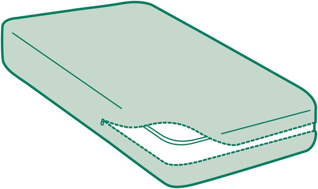 Prot/ège-Matelas Savel Housse integrale de Matelas 160x190//200cm Al/èse /Éponge Bouclette 100/% Coton R/énove Matelas /Élastique