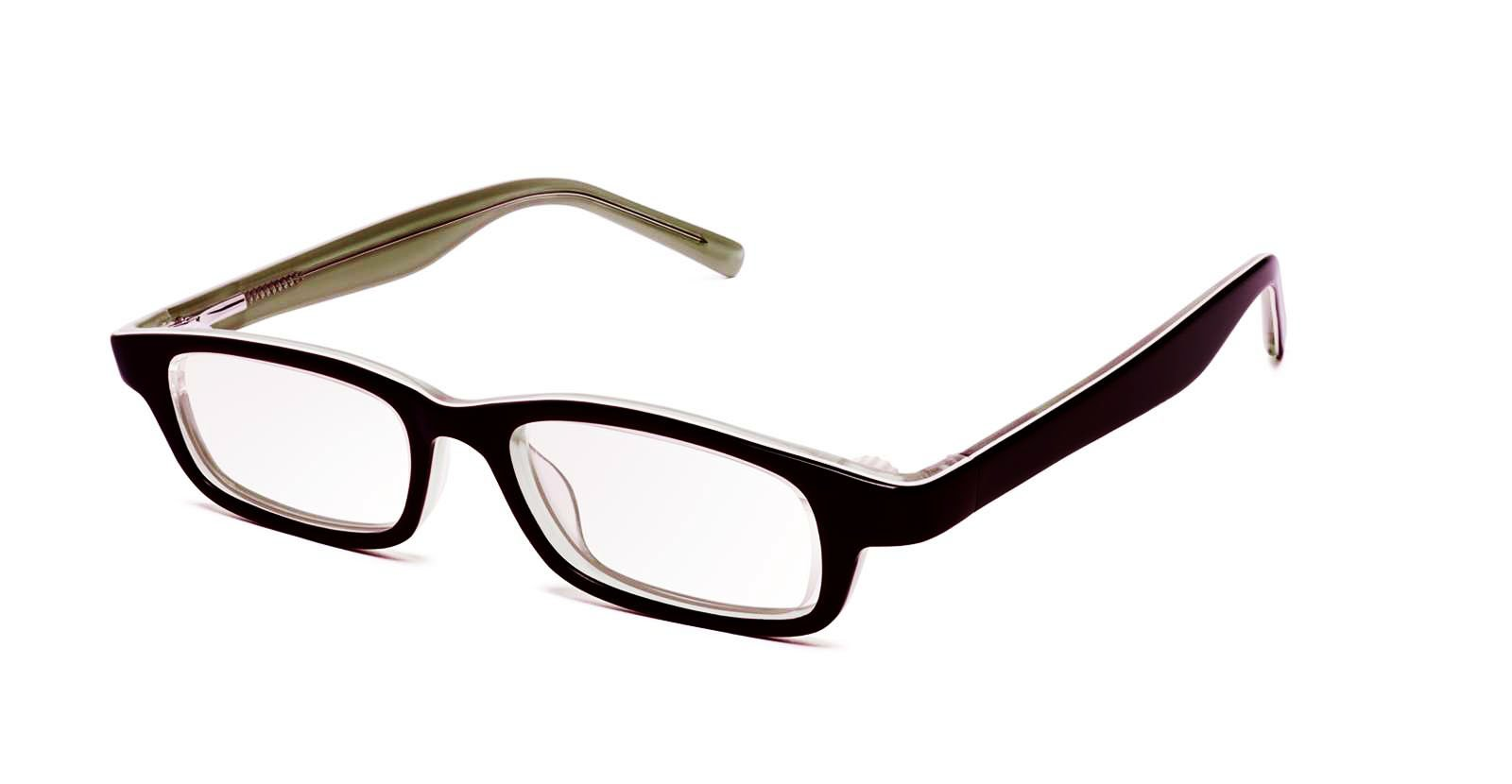 Eyejusters, Self-Adjustable Glasses, Multilayer, Olive & Cream