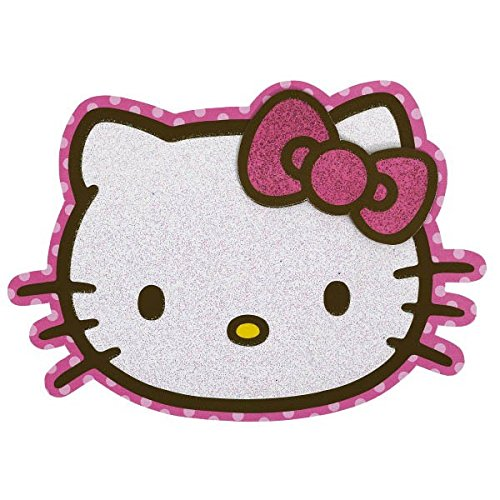 - Amscan Hello Kitty Glitter Party Invitation Card (8 Piece), Pink, 4 3/4