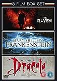 Mary Shelley's Frankenstein (1994) / The Raven (2011) / Bram Stoker's Dracula (1992) - Triple Pack