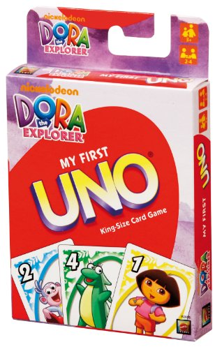 Dora the Explorer My First Uno Card Game