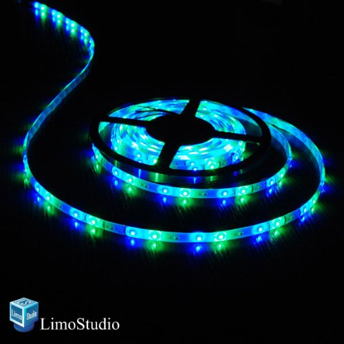 LimoStudio 16.4 ft SMD 3528 RGB Color Changing