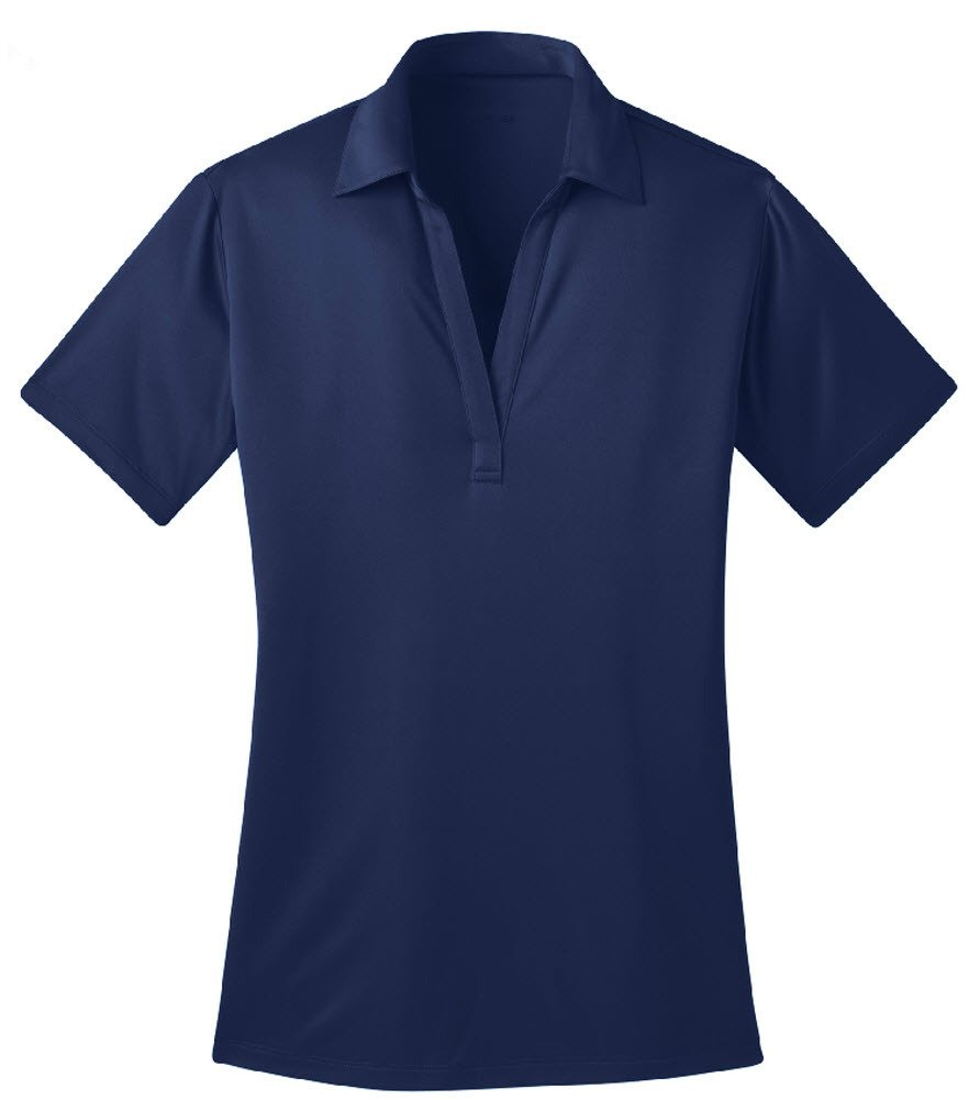 Joe's USA tm Silk Touch Golf Polo Shirt, L-Royal