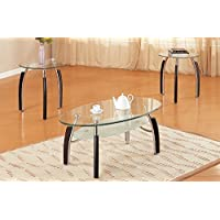 3PCS COFFEE /END TABLE SET
