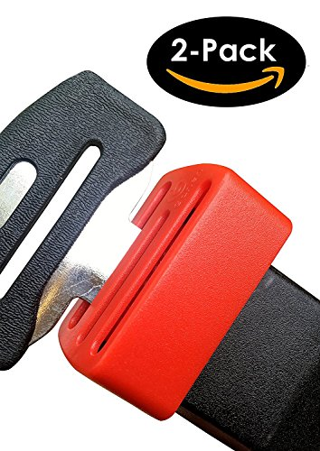 Ganen Belt Lock Buckle Guard Preventing Children Opening Safety Buckle in Travelling (Pack of 2) Seat Belt Buckle Lock