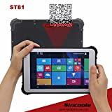8 inch NFC RFID 13.56MHz rugged tablet