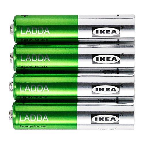 IKEA LADDA Rechargeable Battery AAA (4 Pack) 750 mAH