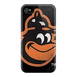 Protective Tpu Case With Fashion Design For Iphone 5s (baltimore Orioles)