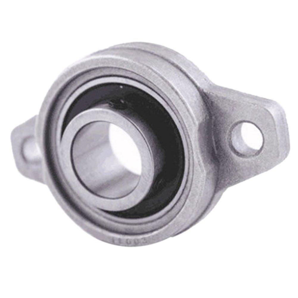 Hrph 2Pcs 8mm diá metro KFL08 Cojinetes de Rhombic de la rueda del cojinete del bloque de la almohadilla Nuevo 46425