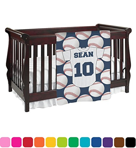 Baseball Jersey Baby Blanket (Single Sided) - Gardens Hours Stores Jersey