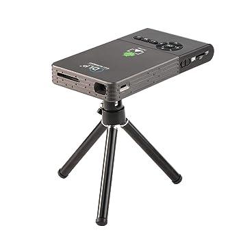 JIANGNAN Proyector Mini HD Inteligente Portátil Proyector de ...