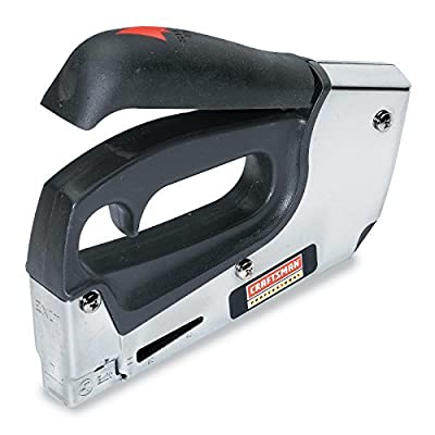 Craftsman Professional Stapler/Brad Nailer, Heavy-Duty, EasyFireTM Forward ActionTM with Rapid-Fire