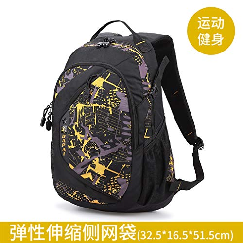 Rose School Bag Backpack Red Bag Student Male Travel Capacity S Large Travel WWU4cxn