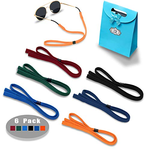 Eyeglasses Holder Strap Cord - Sunglasses Eyewear Retainer-Glasses Cord Lanyard - 6 Pack