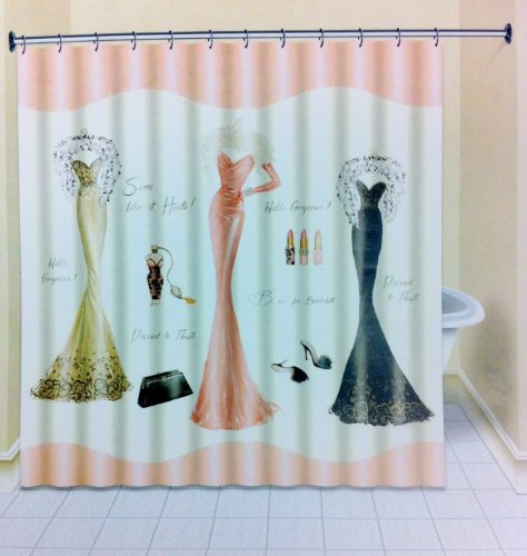 Avanti Dressed To Thrill Shower Curtain