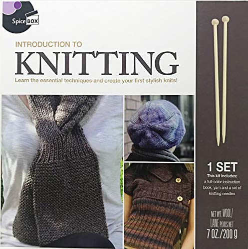 Spice Box Introduction to Knitting