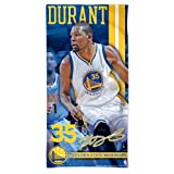Golden State Warriors 2016 NBA Kevin Durant Official Beach Towel by Wincraft