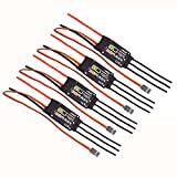 Hobbypower EMAX BLHELI 30A ESC 2-3S Speed Controller for DIY F450 F550 S500 FPV Quadcopter (pack of 4 pcs)
