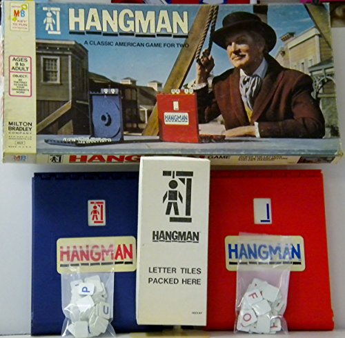hangman board game 1976 - 2