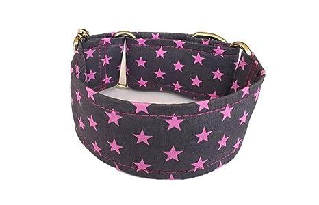 Galguita Amelie - Collar martingale antiescape para perros de todo tipo de raza - TALLA M (30 cm ...