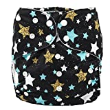 7 year old clothes - Sigzagor 2 to 7 years old Junior Big Cloth Diaper,Nappy,Pocket Reusable Washable,Baby Kids Toddler (Stars)