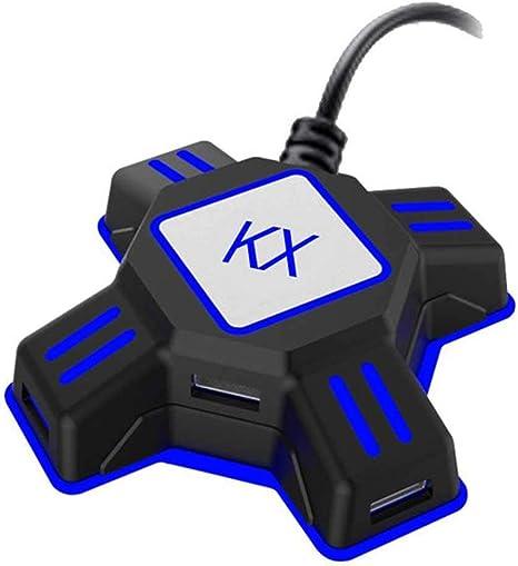 Happon Convertidor de teclado de ratón KX, adaptador de ...