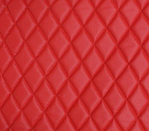 (Vinyl Grain Texture Quilted Foam Fabric 2