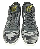 Nike Men Military Como Printed Gray Basketball Field Shoe Size 8 , 654859