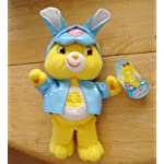 Care Bears Easter Friends Funshine Bear w/ Bunny Raincoat by Play Along