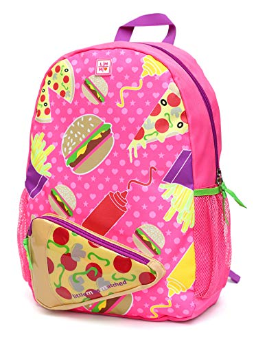 Foodie Fun Backpack (Hamburger, Pizza, French Fries)]()