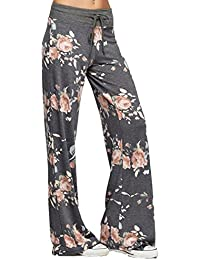 Famulily Women's High Waist Casual Floral Print...