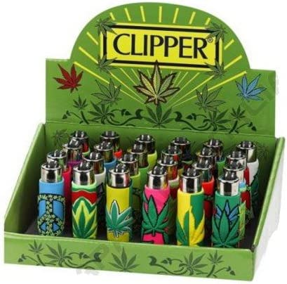 Mecheros Clipper goma Pop Leaves 1 pz: Amazon.es: Salud y cuidado personal