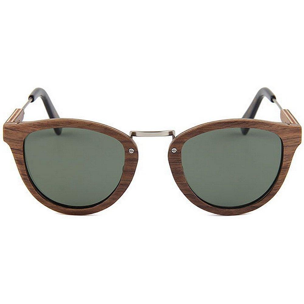 fd7e13fafb Gafas las que de sol de madera de alta calidad protección gafas de sol  polarizadas hechas a mano gafas de sol del caballero hechas a mano de la  protección ...