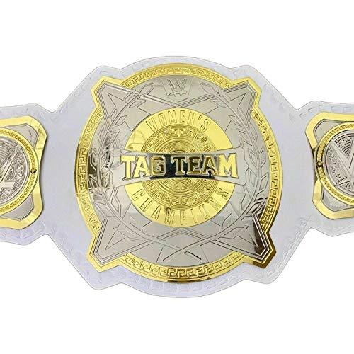 Vitalusa WWE Womens Tag Team Wrestling Championship Belt Adult Size Replica Belt Title Belt WWE Belt