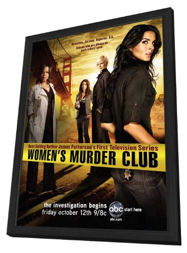Women's Murder Club (TV) 11 x 17 TV Poster - Style A - in Deluxe Wood Frame